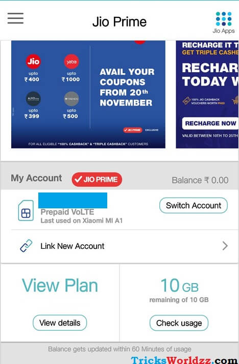 Get Reliance Jio Extra 10GB Free Internet Data - Xiaomi