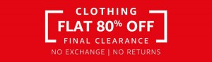 Steal Deals Amazon Flat 80% Off On Clothing