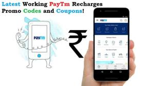 Latest Working PayTm Recharges Promo Codes and Coupons