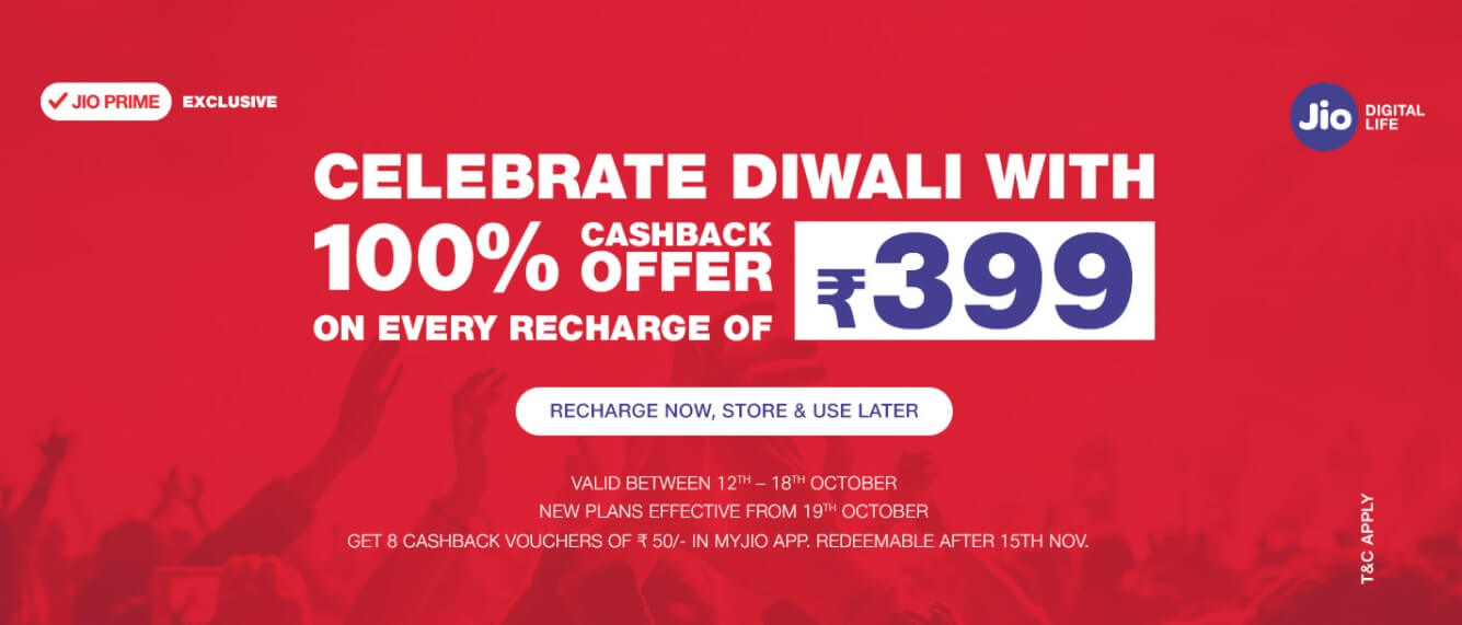 Reliance Jio announces Diwali Dhan Dhana Dhan