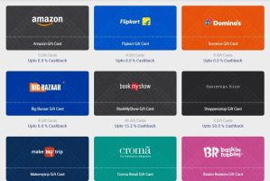 Buy Gift Card & Get Freecharge Cashback of 25 + 50 ZingCash+ on Zingoy.