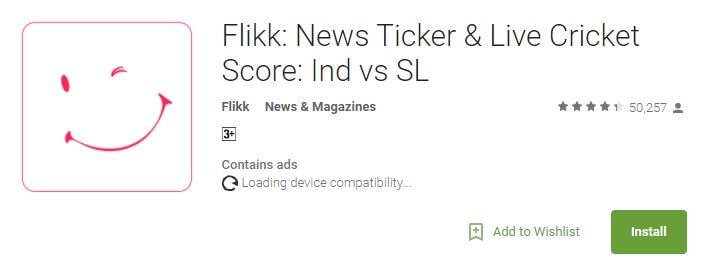 Flikkr Get Free Rs 10 Instant-on Sign up