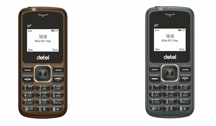 Detel D1+ Feature Dual SIM Phone Rs 399
