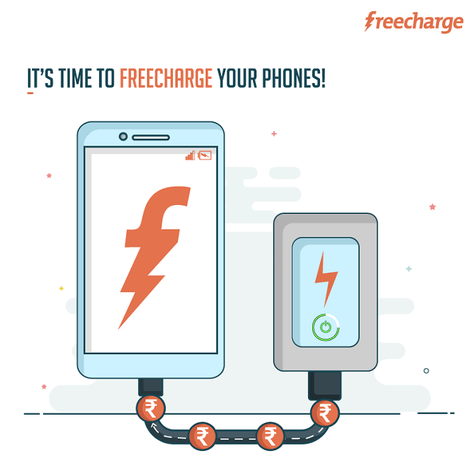 Freecharge Get Free Rs 10 Cashback on Rs 10 Recharge