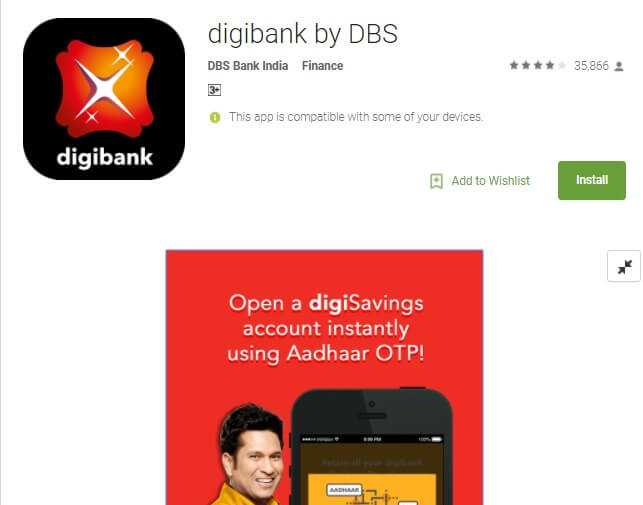 Get Rs 50 Cashback Digibank App Adding Rs 2000 using UPI