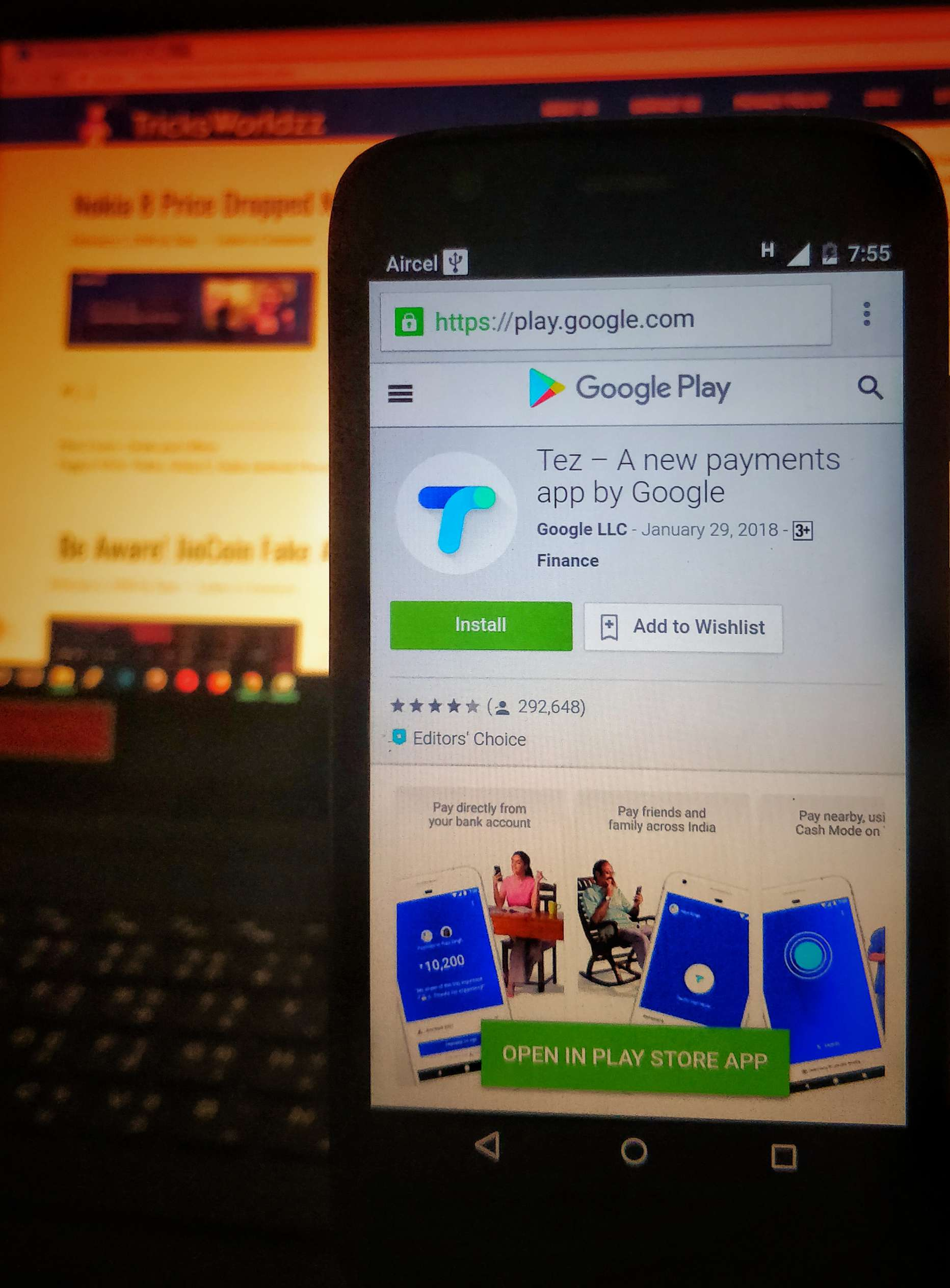 Tez App Get Rs 5000 Scratch Card on Paying Rent