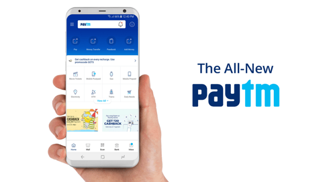 PayTm Free Recharge Offer - Get up to 100% Cashback