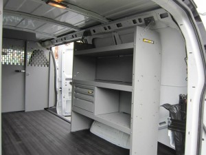 Custom HVAC Van Interiors