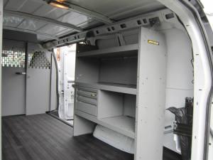 Custom HVAC Van Interiors