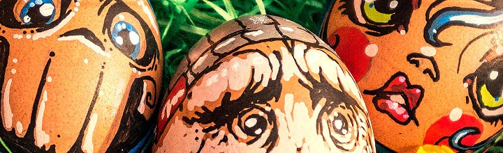 Frohe Ostern! Happy Easter! Joyeuses Pâques!
