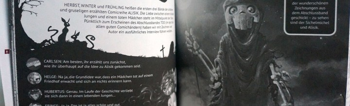 Alisik-Interview im aktuellen Manga Preview!