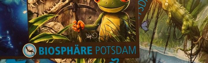 Postkarten für die Biosphäre Potsdam!