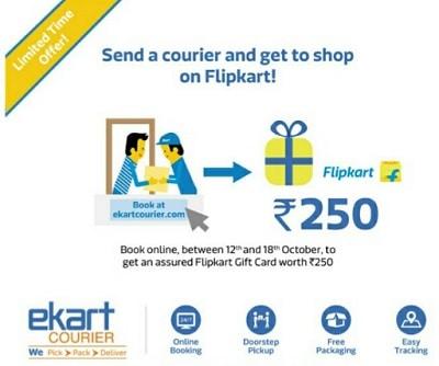 ekart-courier-flipkart-offer