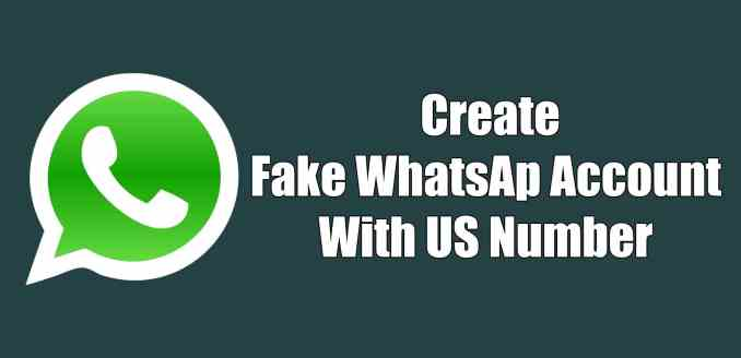 Fake WhatsApp Number