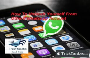 how to unblock yourself from others whatsapp account how to chat