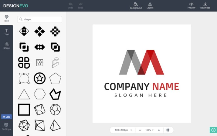creating a free and unique logo online is simple with designevo