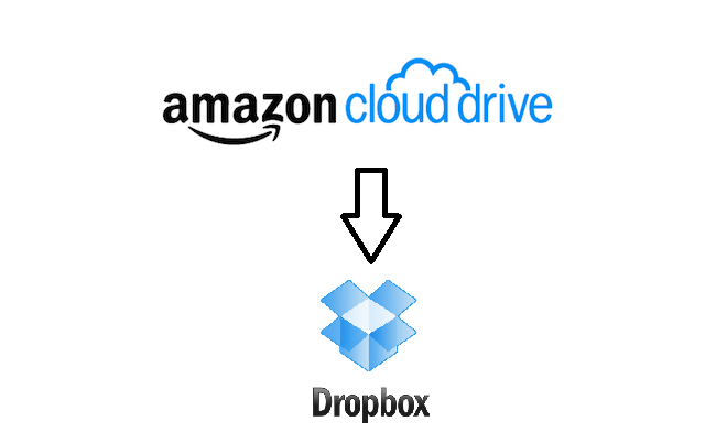 Transfer Files from Amazon Cloud Drive to Dropbox