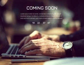Coming Soon Page With WordPress