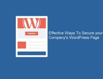 Secure Your Company's WordPress Page