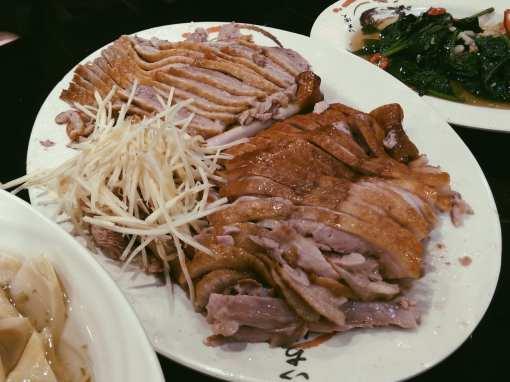 acheng roast goose taipei