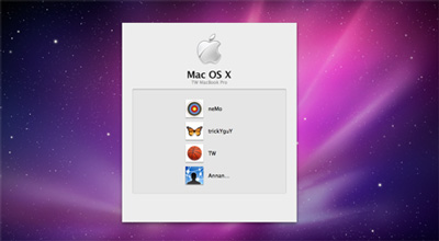 How to Show off all Available Accounts on Mac OS X Login