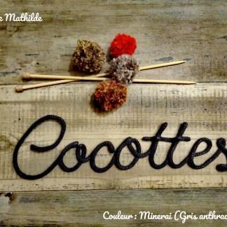 Cocottes en tricotin