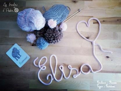 Elisa tricotin