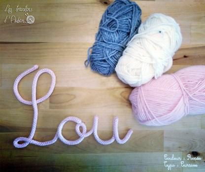 Lou tricotin