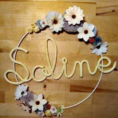 Soline tricotin fleur