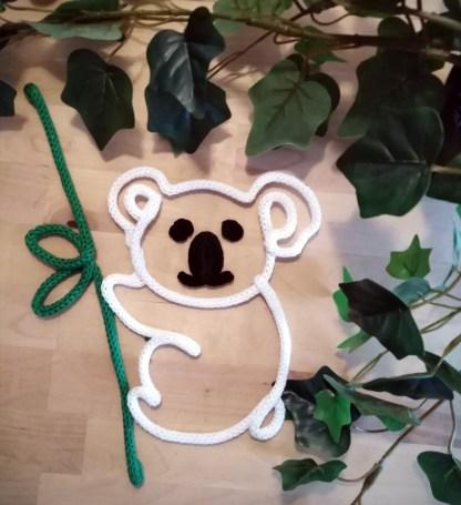 Koala en tricotin