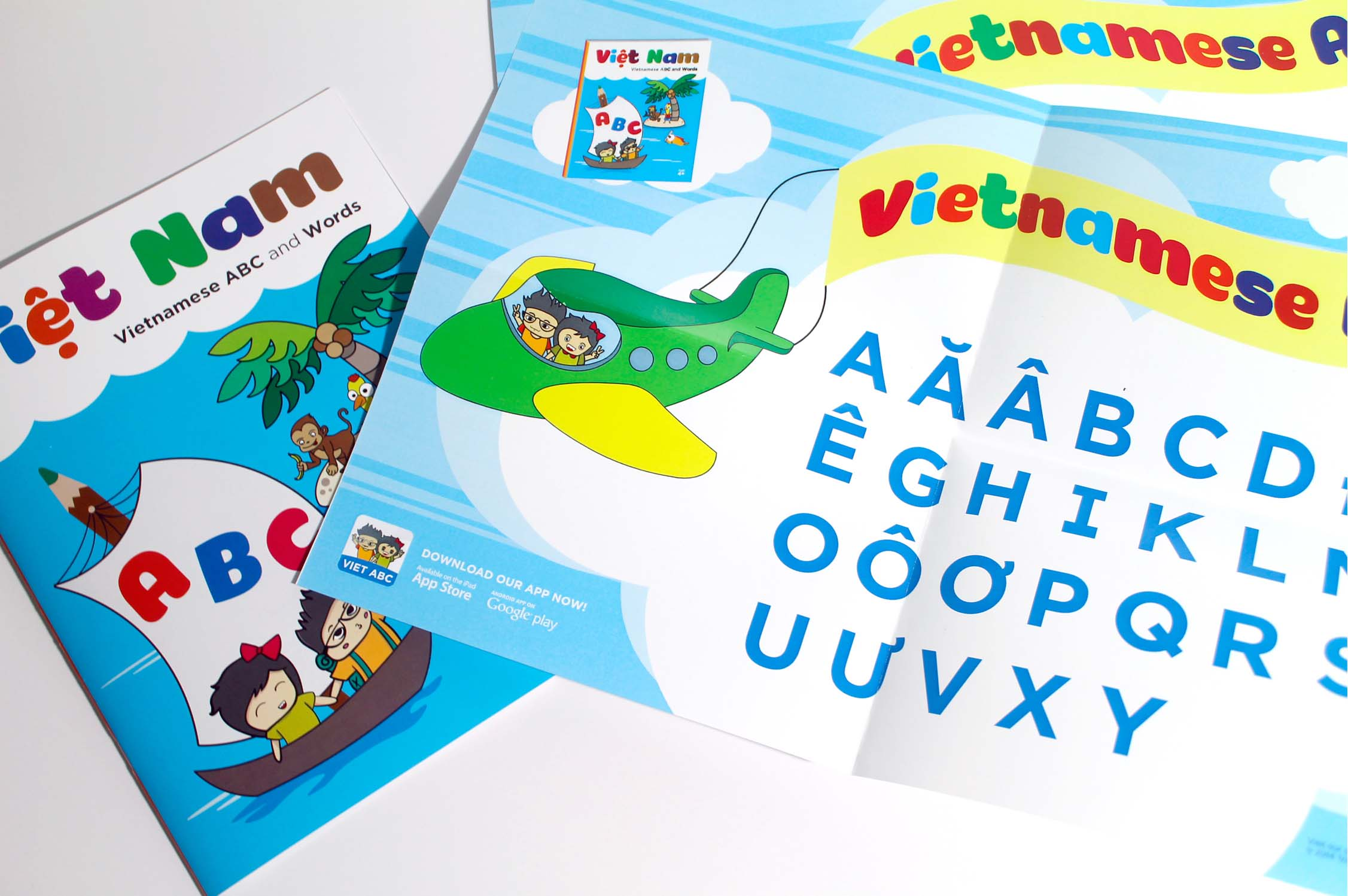 Poster design - Vietnamese Alphabet Project
