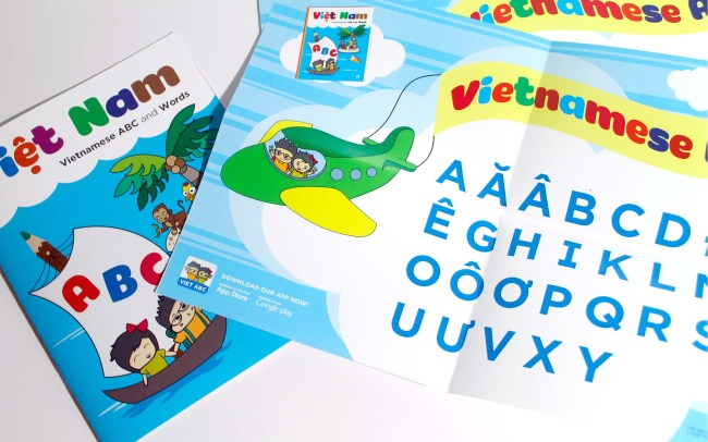 Poster design - Vietnamese Alphabet Project