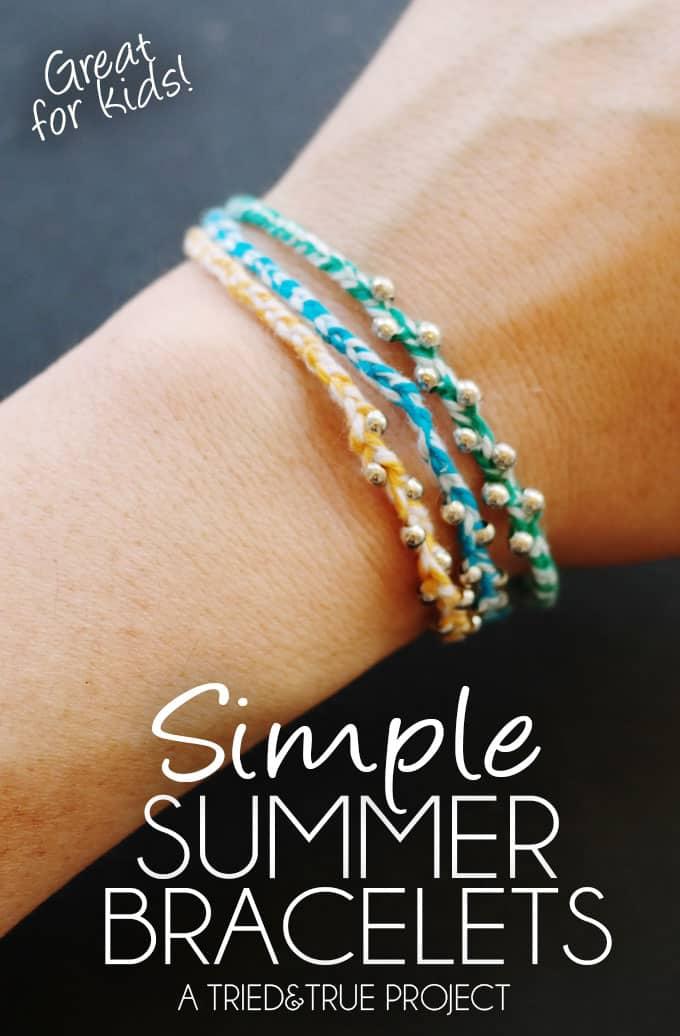 Simple Summer Bracelets Amp 100 Shopping Spree Tried Amp True