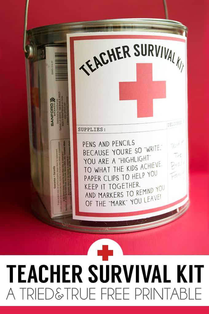 Teacher Survival Kit Tried Amp True