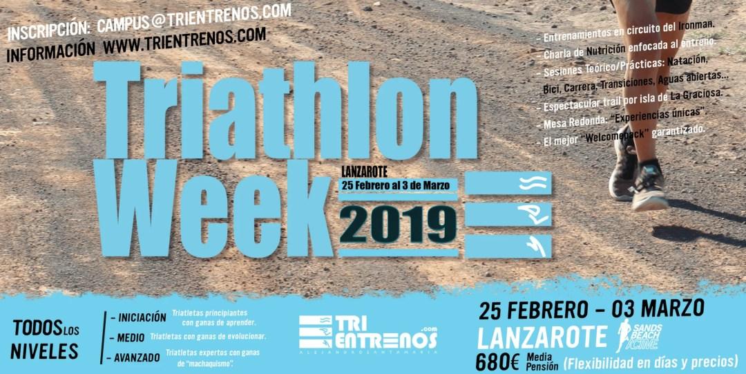 TriathlonWeek Lanzarote | Alejandro Santamaria