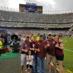 TriFection Hosts Aggie Contest Winners on Kyle Field Sidelines