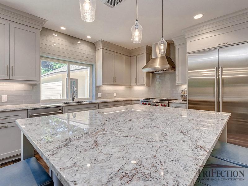 white spring granite countertops