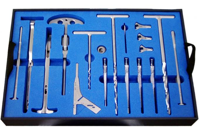 Foam Routed Medical Instruments Tray