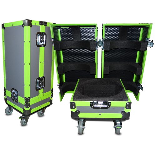 Bespoke Flight Case with Neon Extrusions