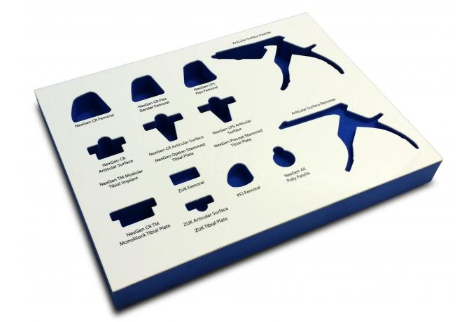 CNC Routed Medical Implant Tray