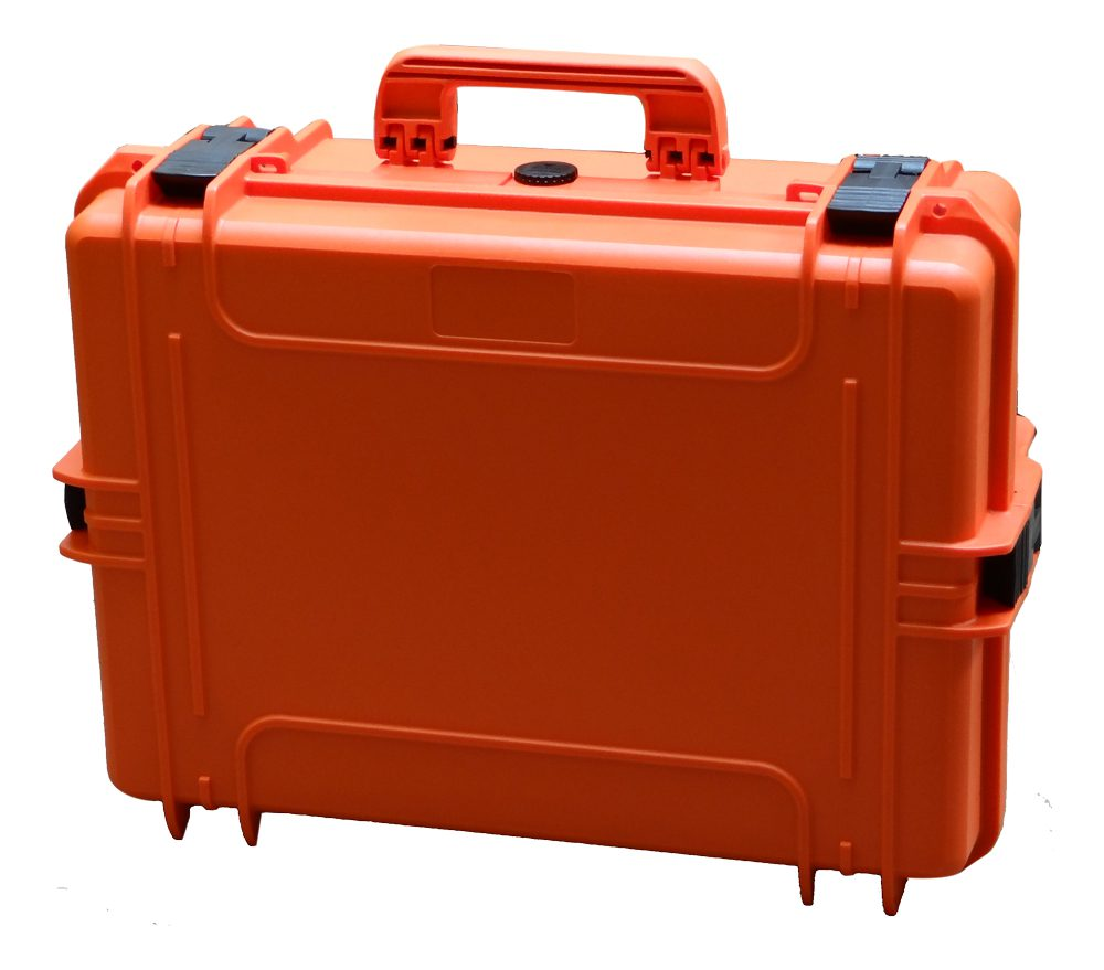 Orange Waterproof Cases Available