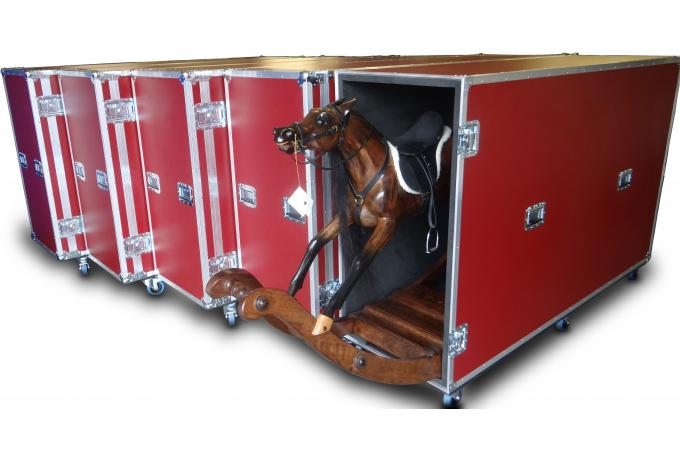 Flight Case for Rocking Horses
