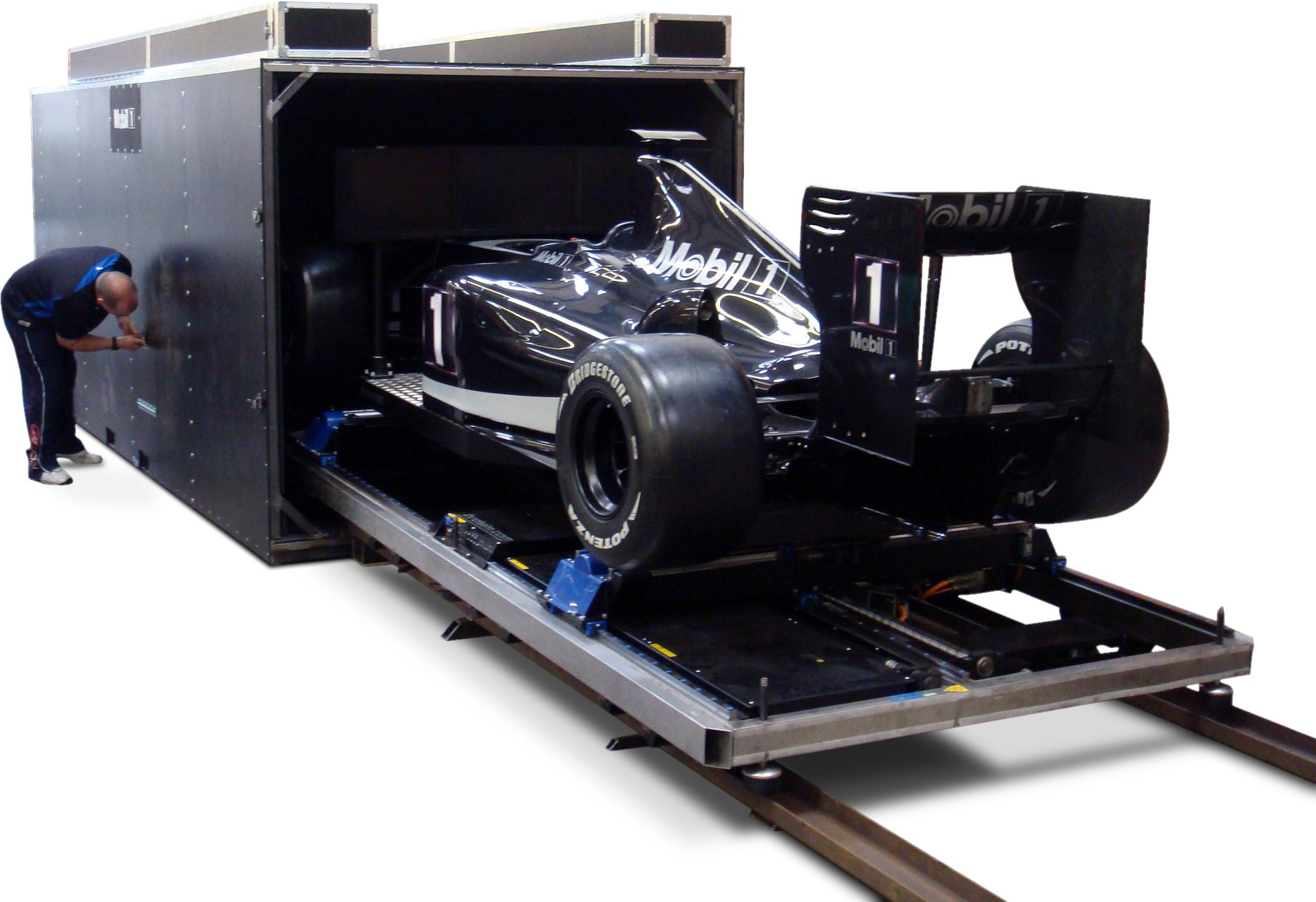 Flight Case for F1 Car Simulator