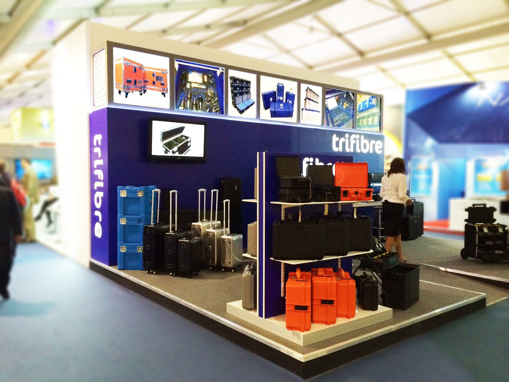 Trifibre Bespoke Exhibition Stands