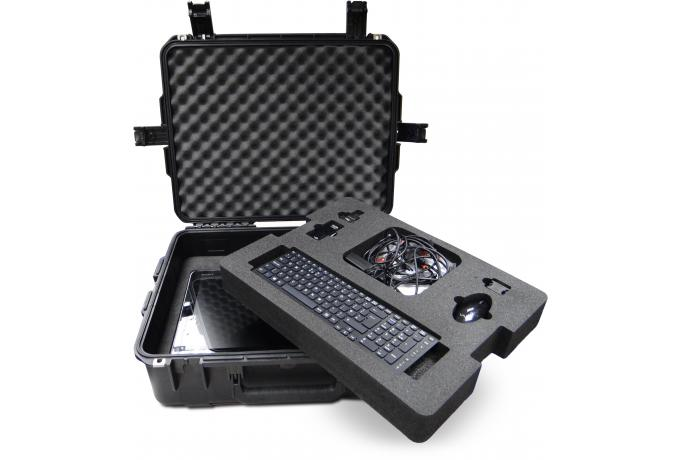 custom foam interior for computer equipment waterproof case