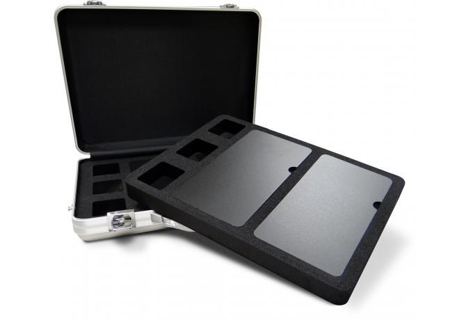 custom foam interior for aluminium presentation brief case