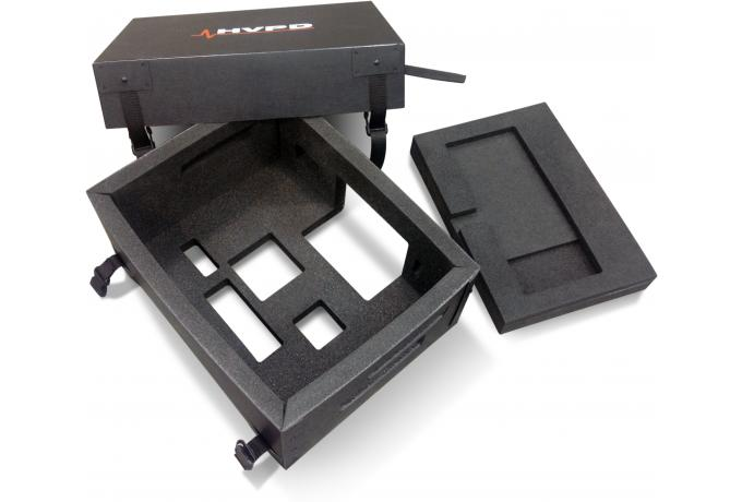 Foam routed poly case