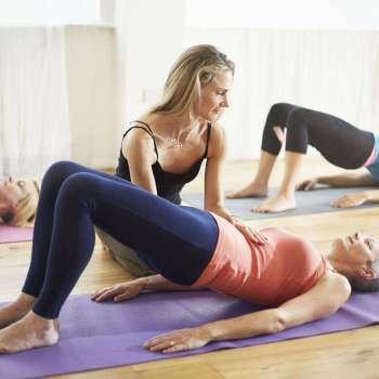 Trifocus Pilates instructor - pelvic tilt