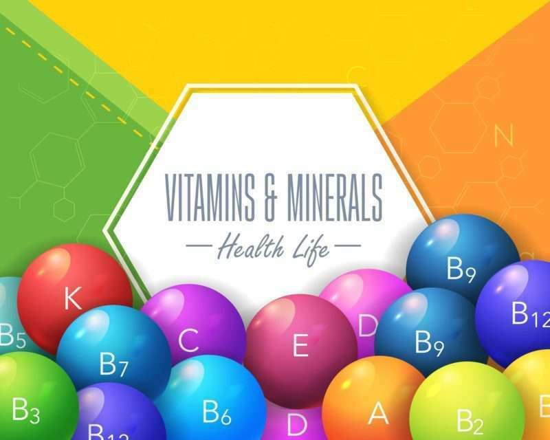 Trifocus fitness Academy - minerals and vitamins