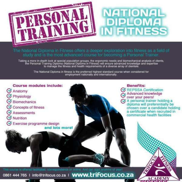 Trifocus fitness academy - become a personal trainer